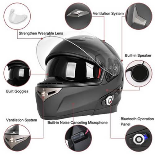 Freedconn – Best Modular Motorcycle Helmet